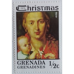 Granada Stamp: Dürer Virgin...
