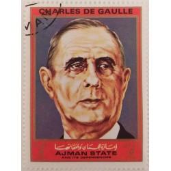 Stamp Ajman State - Charles...