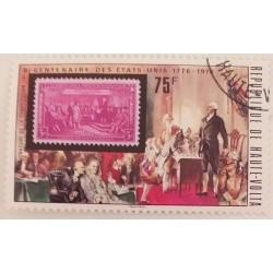 Stamp Haute Volta...