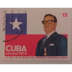 Cuba stamp Salvador 1st...