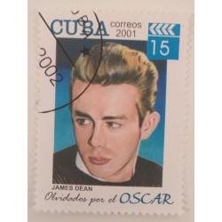 Cuba stamp James Dean Oscar...