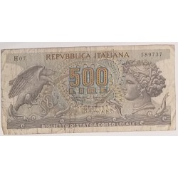 Banknote Italy 500 lire 20...