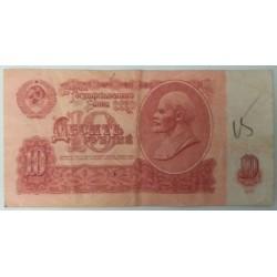 Banknote russia lenin 10...