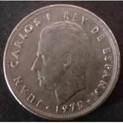 Coin Spain 5 Pesetas Carlos...
