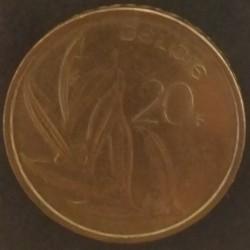 Coin Belgium 20 Francs 1992