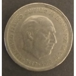 Coin Spain 5 Pesetas...