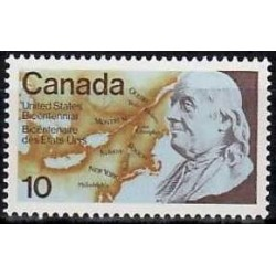 Canada Stamp: United States...