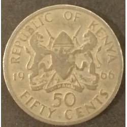 Coin Kenya 50 Cents Jomo...