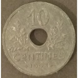 Coin France 10 Centimes...